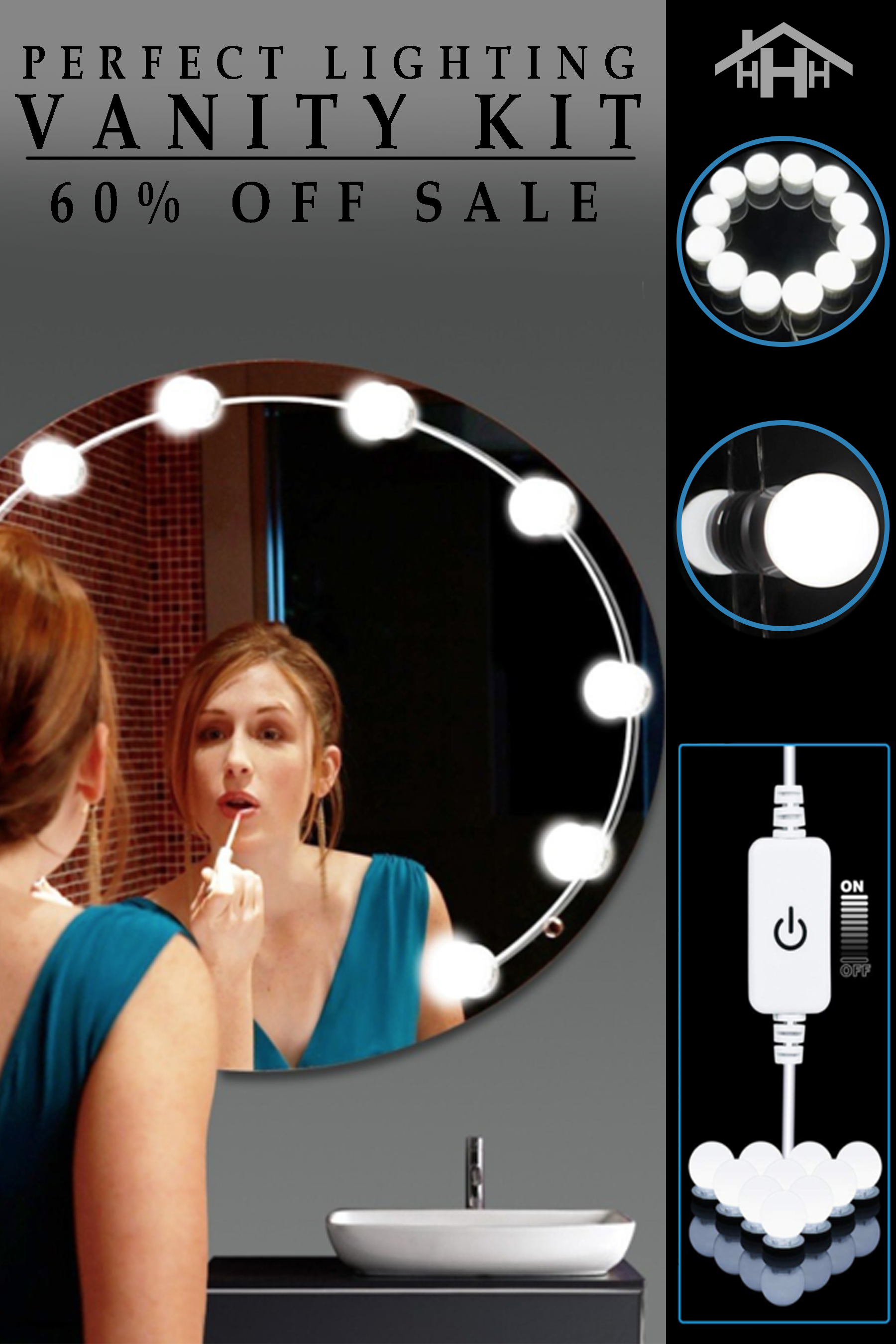 Get A Vanity LED Mirror For Under 100?! 😱. Yes Please