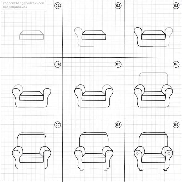 Take A Look At This Stylish Chair In Front Of Fireplace What An Imaginative Style And Design Chairinfrontoffirep In 2020 Chair Drawing Easy Drawings Doodle Drawings