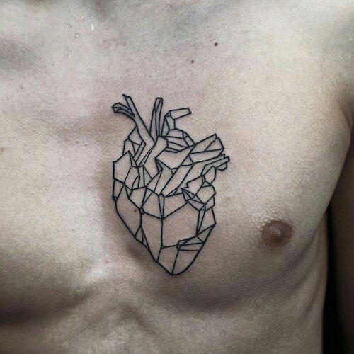 pin by yago volk va on tattoo pinterest tattoo rh pinterest com Abstract Tattoos for Men abstract heart tattoo design