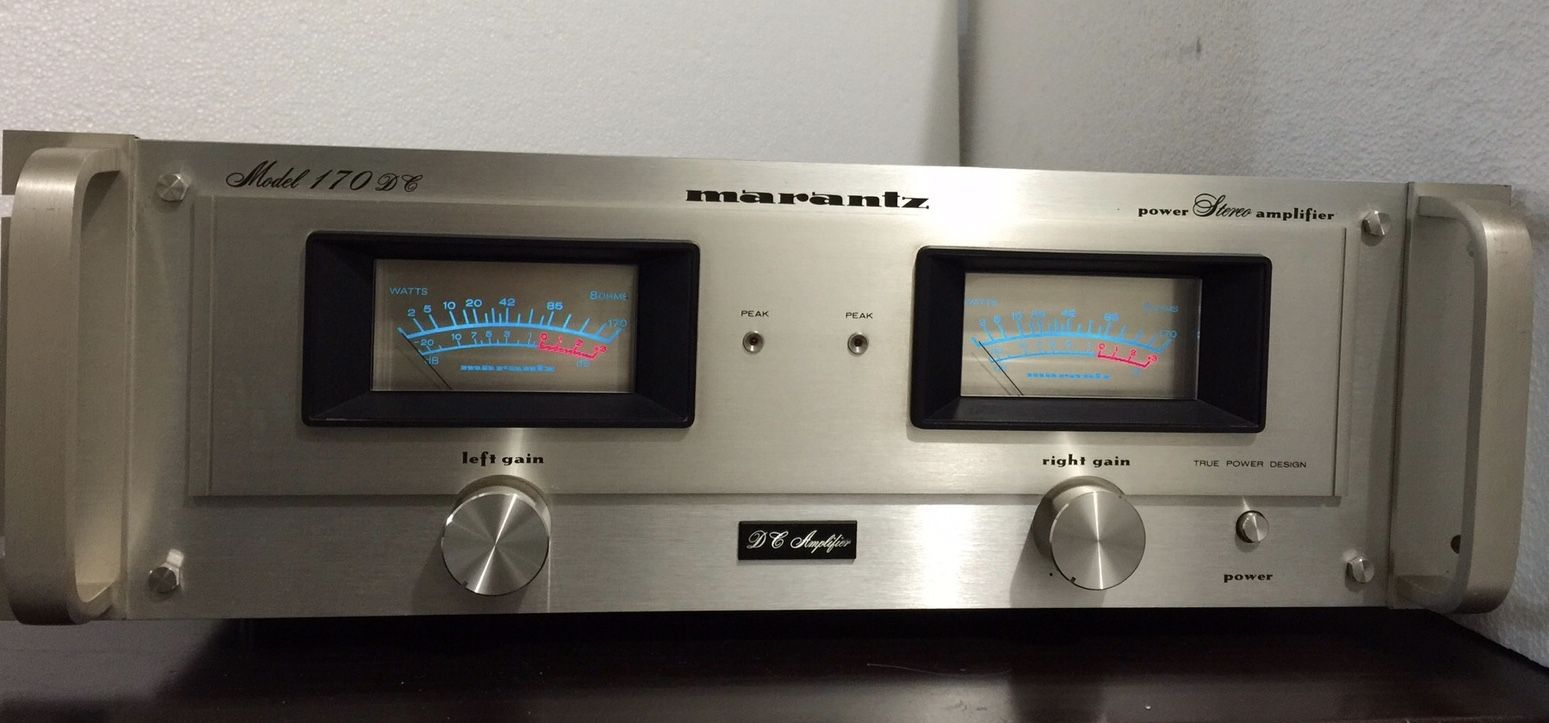 Amplifier Marantz Model 170dc Marantz Vintage Electronics Power Amplifiers