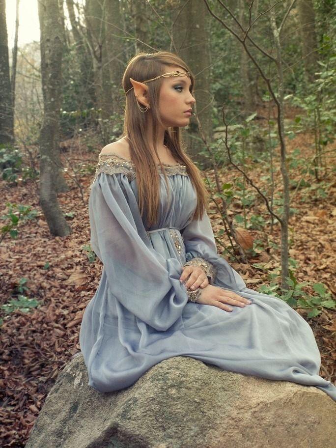 Robe d'elfe pas chere