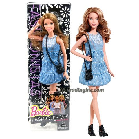 *NIP* 3 pc SCHOOL UNIFORM Dress Jumper Outfit Clothes fits Barbie doll PLAID #89