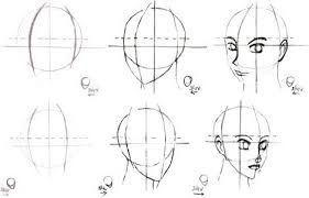 Resultado De Imagen De Cara Medio Perfil Dibujo Rostros Humanos Como Dibujar Manga Caras