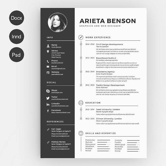 Too Dia Admin Kembali Lagi Dgn Design Resume Yang Lebih Gempak2 Ouls Berminat Pm Tepi Photoshop Job Jobhunter Resu Resume Kreatif Cv Kreatif Desain Resume