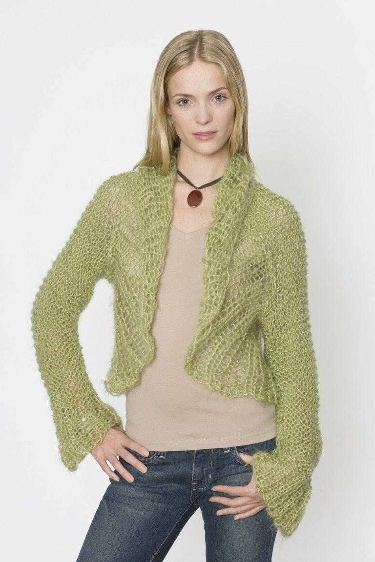 Unique Shrug Pattern Knit Sketch - Blanket Knitting Pattern Ideas ...