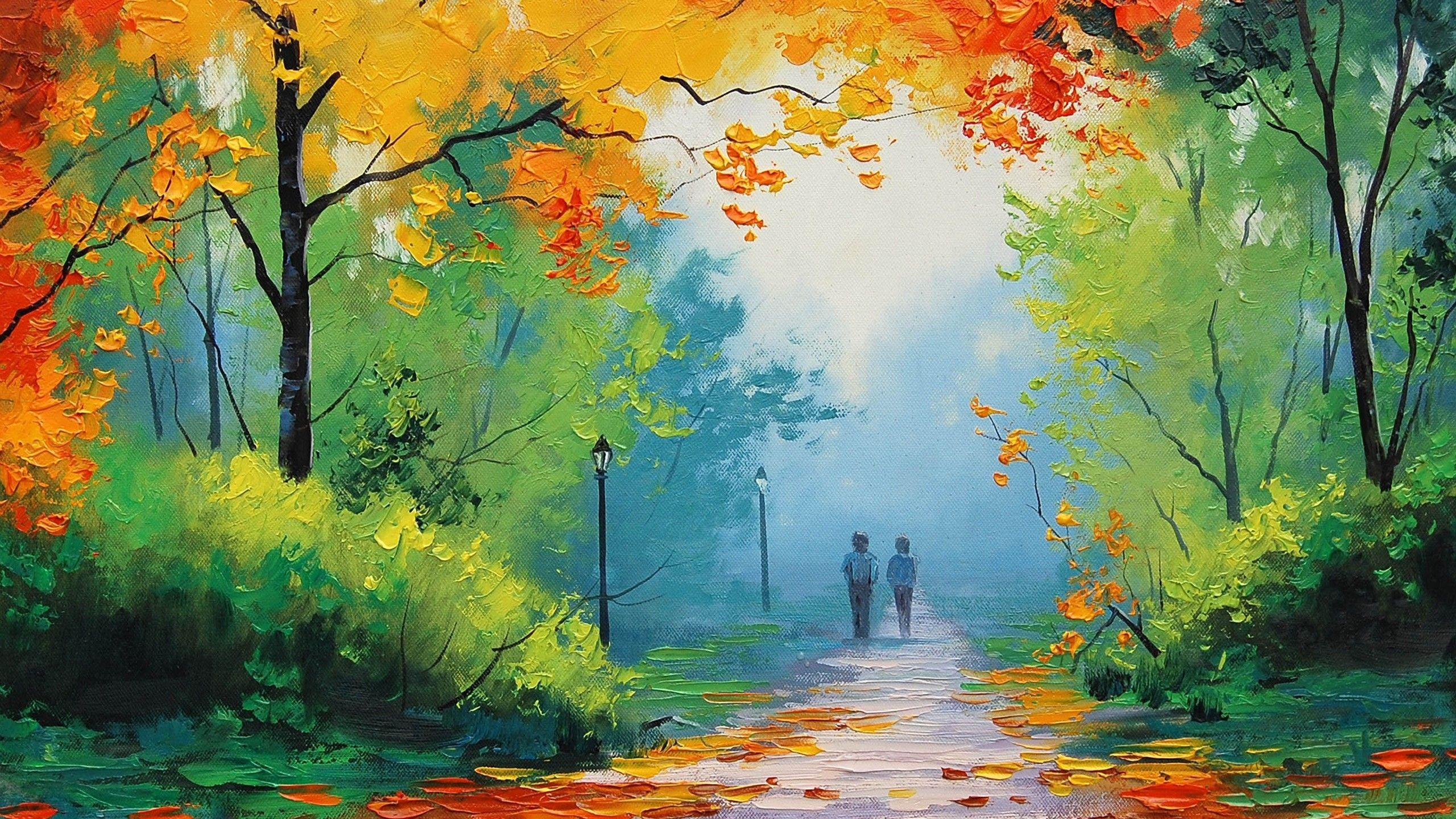 Elegant Best Oil Painting Hd Wallpaper Nature Paintings Forest Painting Turn Photo Into Painting