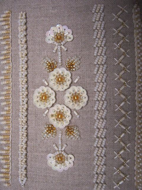 Bead embroidery stitch samples google search