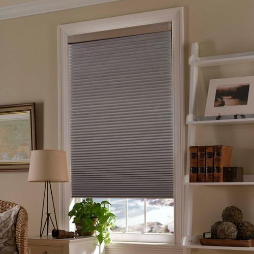 Instafit Cordless Honeycomb Shade Blinds Com Custom Window Shade Cordless Blinds Window Treatments Living Room