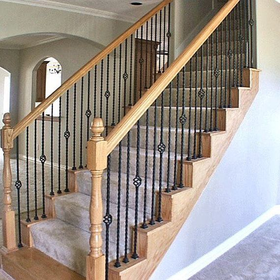 Stair Designs Railings Jam Stairs Amp Railing Designs: Metal Railing Basket Weave Spindels FREE SHIPPING By