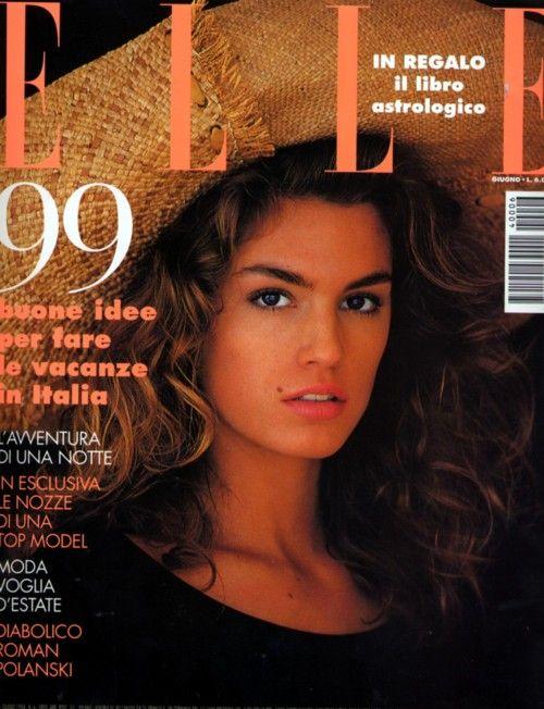 Cindy Crawford  -  Elle Italy 1994