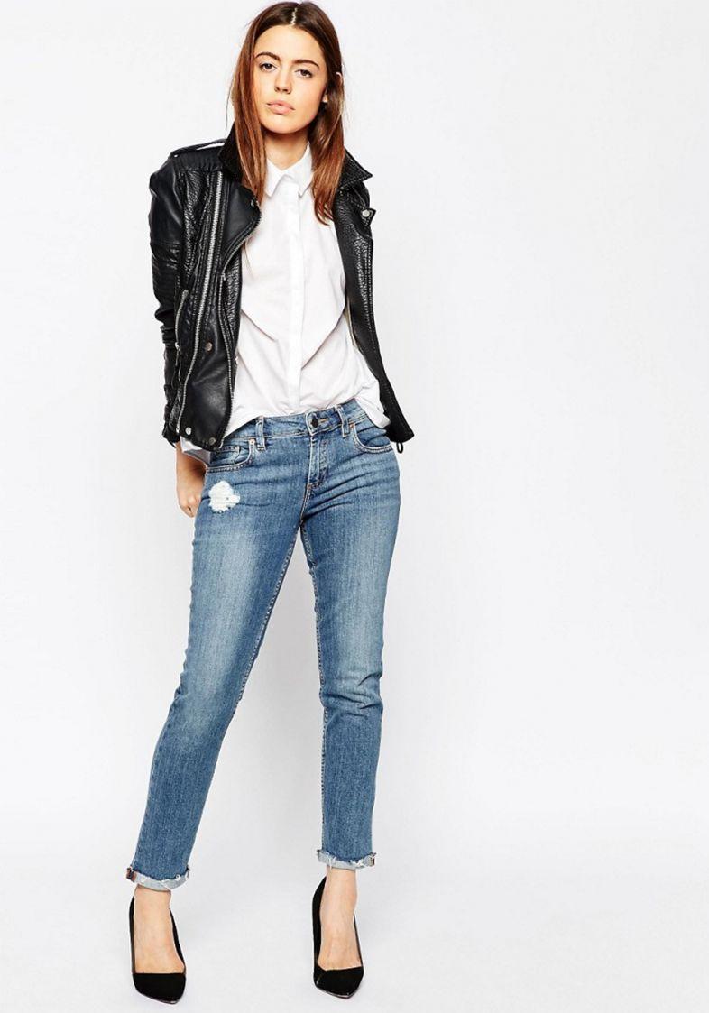 447f8e377 Jeans Boyfriend | Looks Calças | Boyfriend Jeans, Calça skinny e Jeans