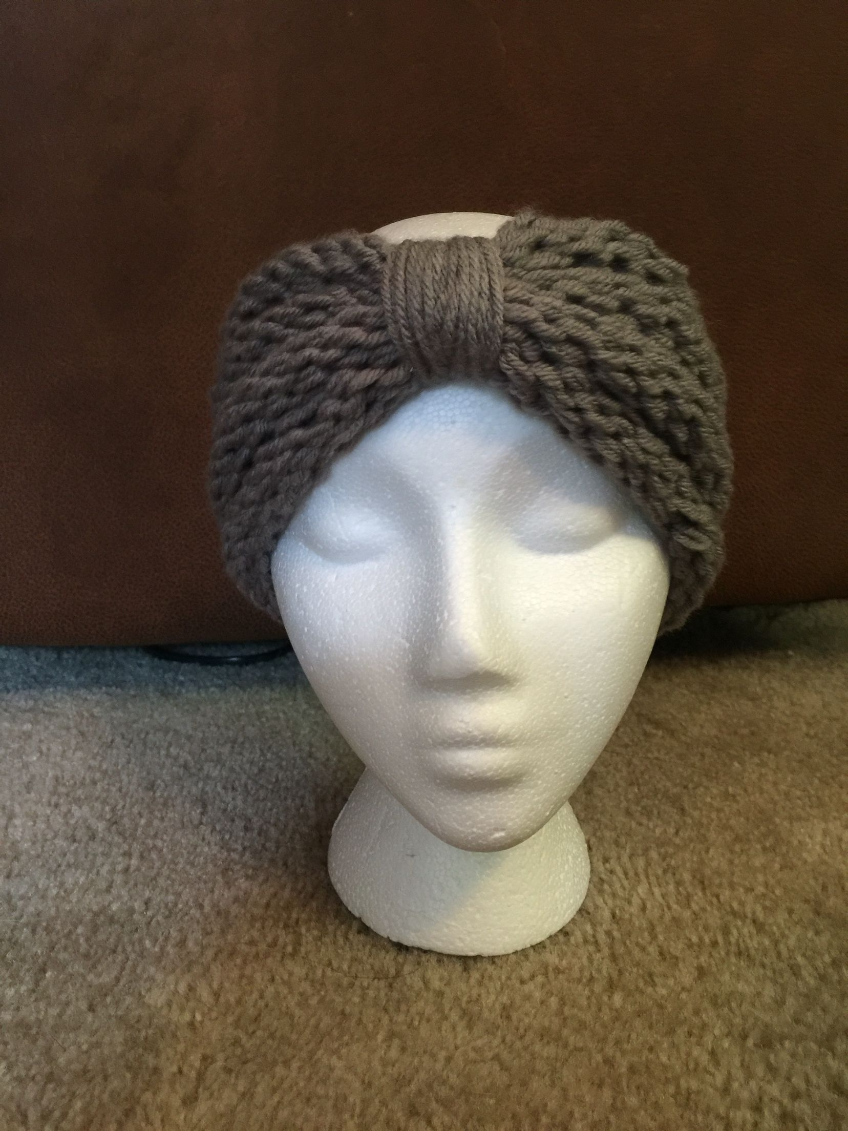 Loom knitted ear warmer/ headband | Loom Knitting | Pinterest | Ear ...