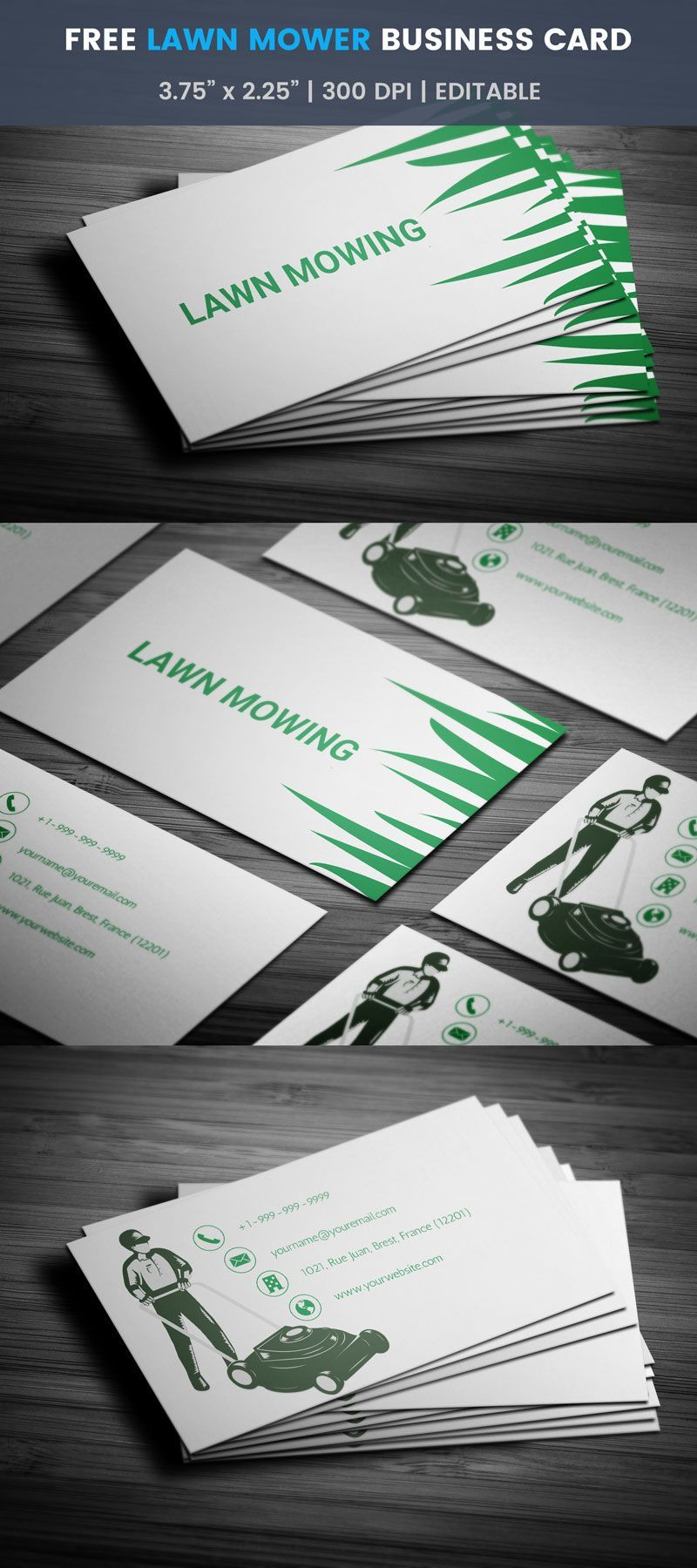 Professional Lawn Care Landscaping Business Card Zazzle Com In 2021 Landscaping Business Cards Lawn Care Business Cards Landscaping Business