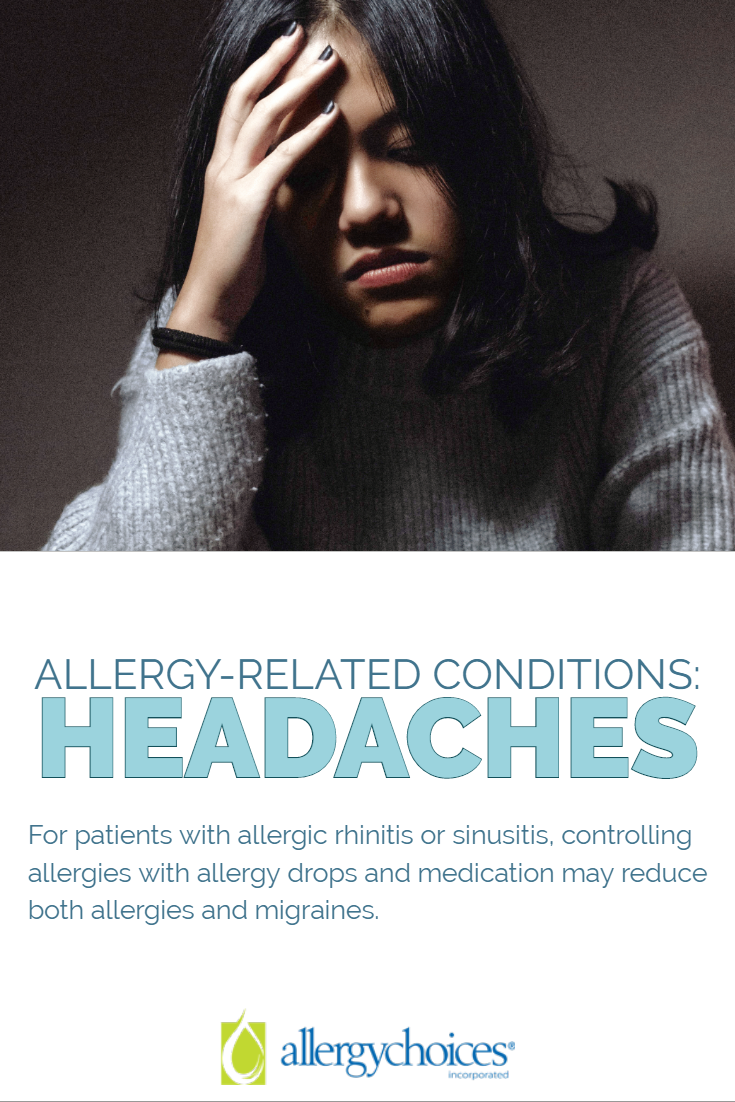 Can You Get Headaches From Allergies Allergy Related Headaches In 2020 Headache Allergies Sinus Cavities