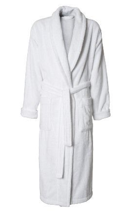 Hvid frotte badekåbe | Hvid, Tøj, Store størrelser