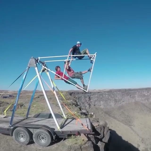 2d94b4176f55 Russian Swing Launch Base Jump! Double Tap If You Would Try It ...