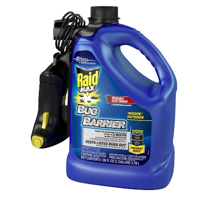 Raid Max Bug Barrier Trigger Starter Kit 1 Gallon Stink Bugs