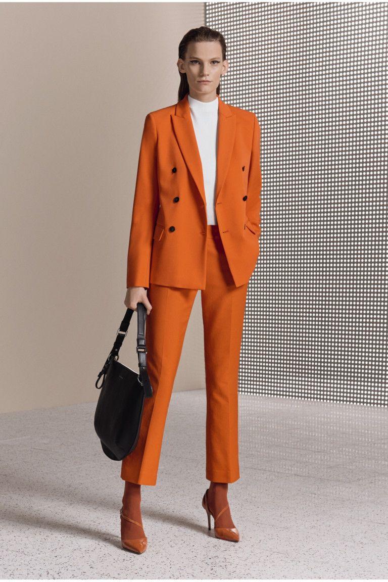 71d7301056 Boss Hugo 2018 Traje Pantalon Mujer