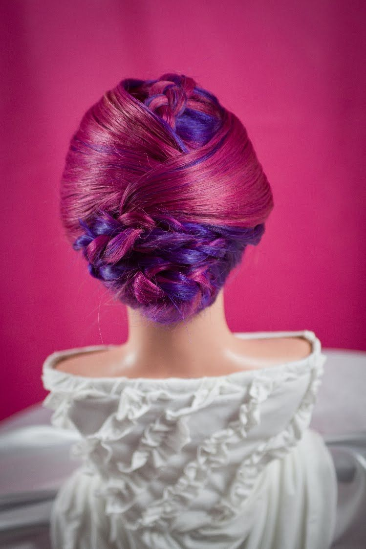 Tuxedo Braided Updo | Gorgeous Wedding Updos | Pinterest | Updo ...