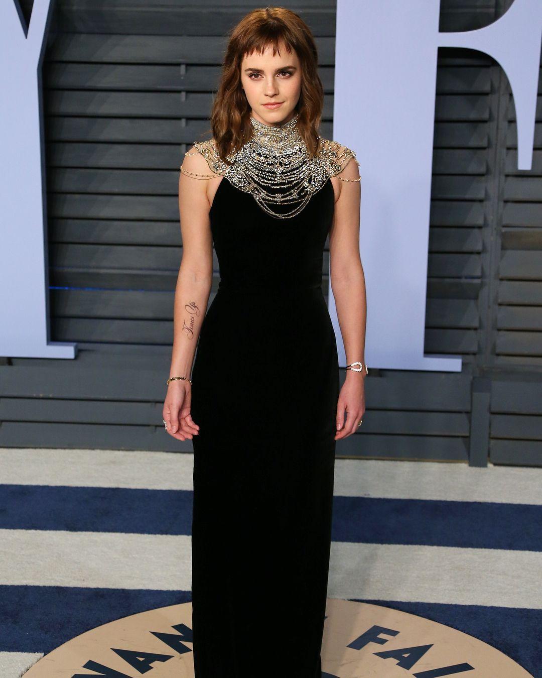 Emma Watson Wearing Ralph Lauren Collection At The Vanity