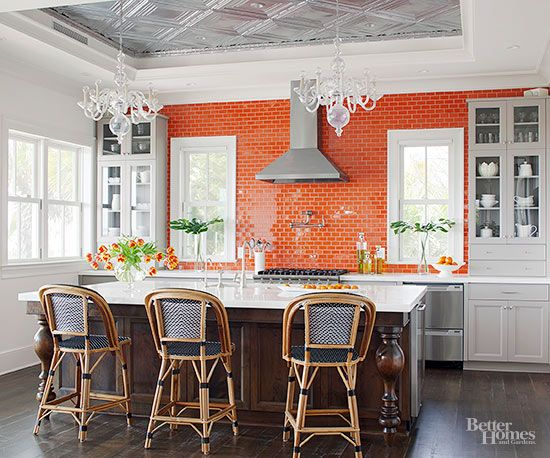 21 tile ideas that will mesmerize you creative kitchen colors and cabinets - Creative tile kitchen backsplash ideas ...