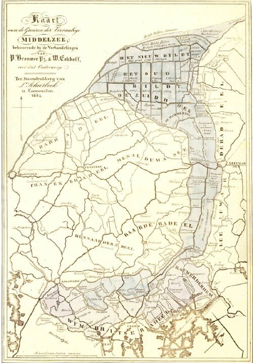 Middelzee Wikipedia Oude Kaarten Kaarten Cartografie