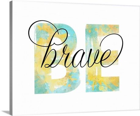 Typography artwork with the word \'BE\' as the background in teal and ...