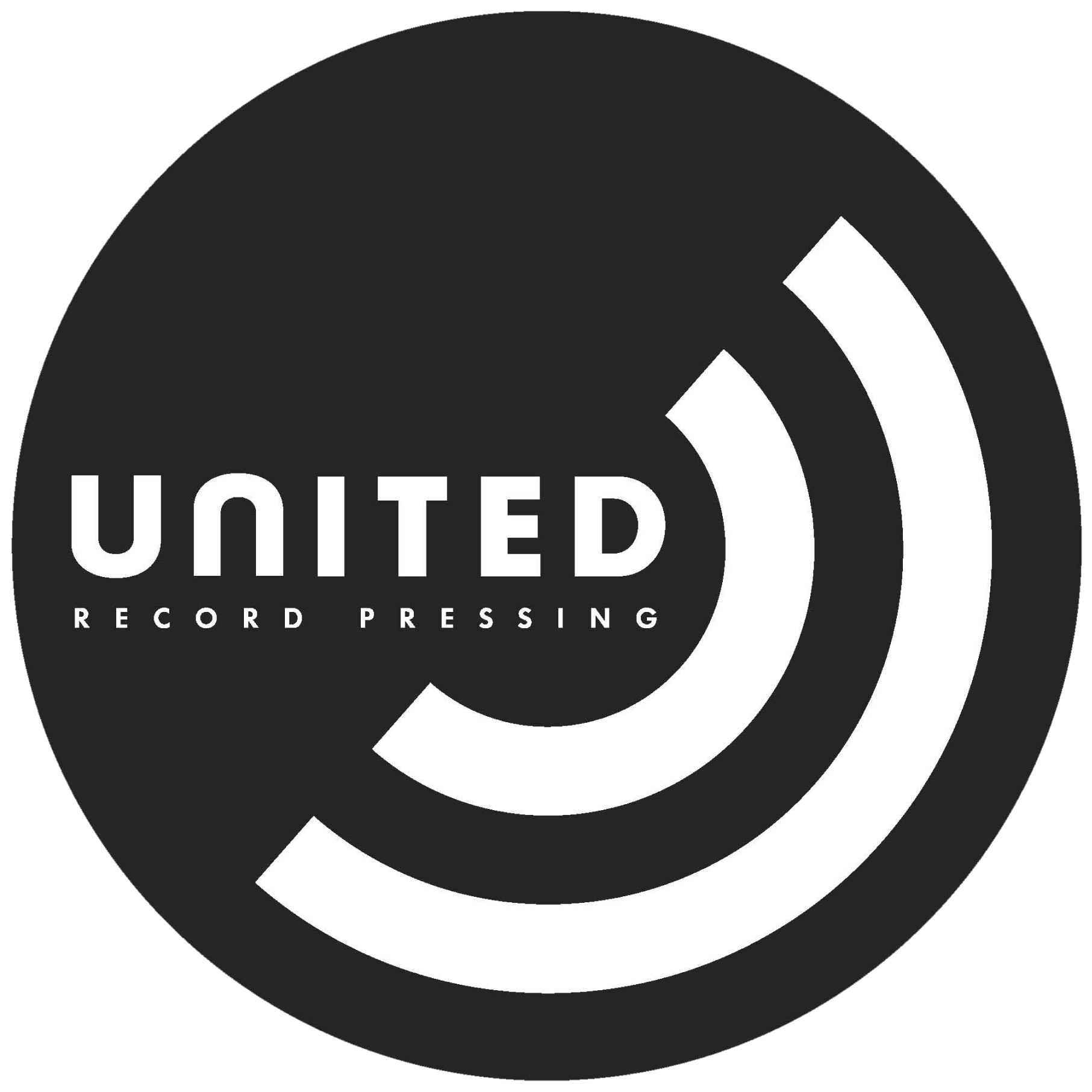 Vinyl record w. Record label logo, Vinyl record shop