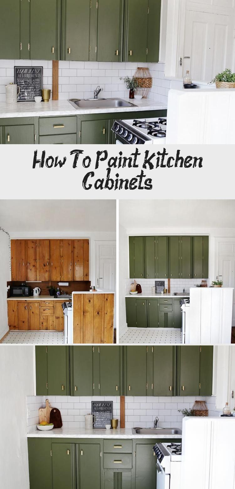 A New Coat Of Paint Makes All The Difference In This Rental Apartment Kitchen Just Check In 2020 Diy Kitchen Cabinets Makeover Painting Kitchen Cabinets Kitchen Decor