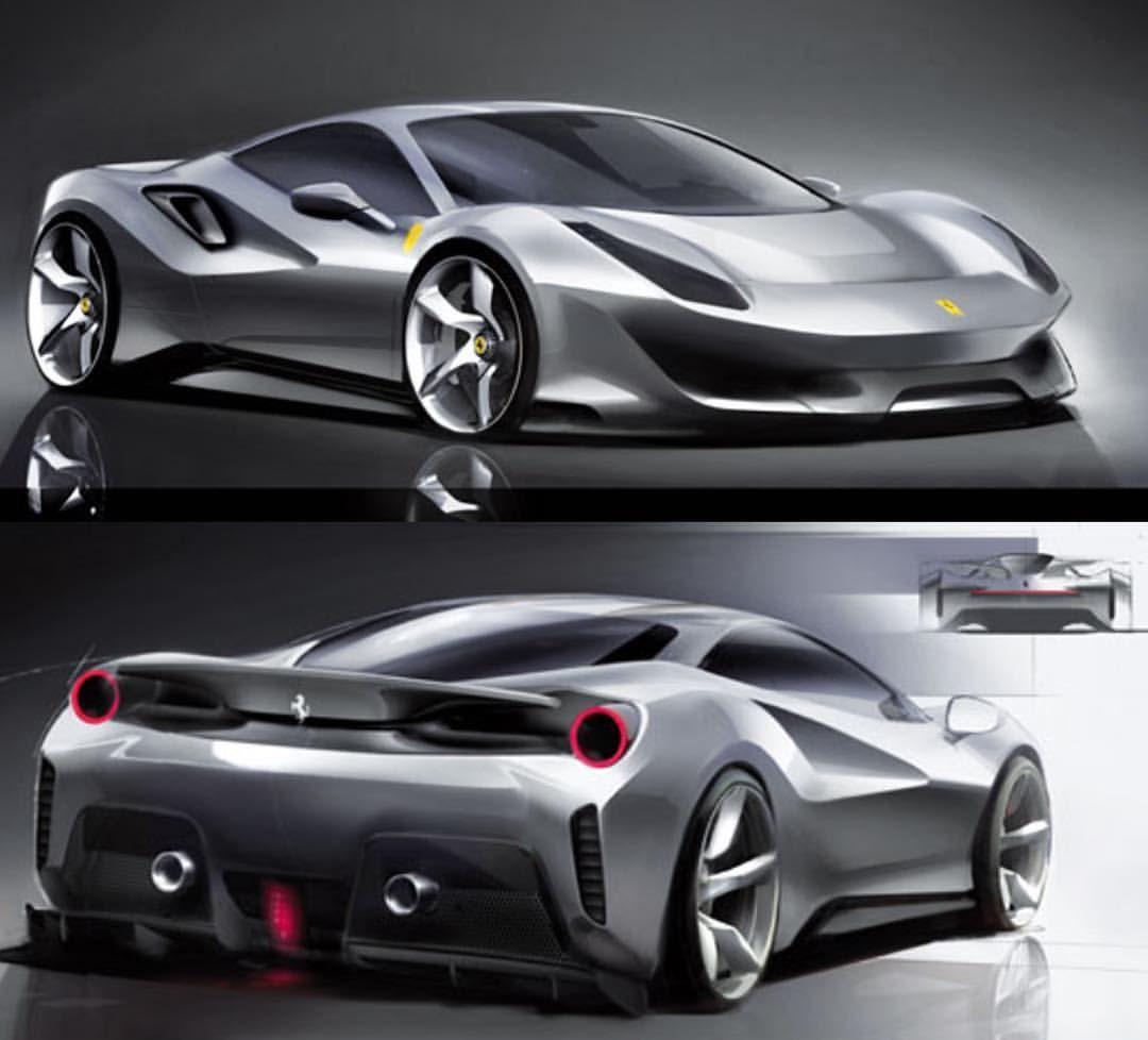 Ferrari Portofino GT Design Sketch Renders | Design sketch ... |Ferrari Design Sketches