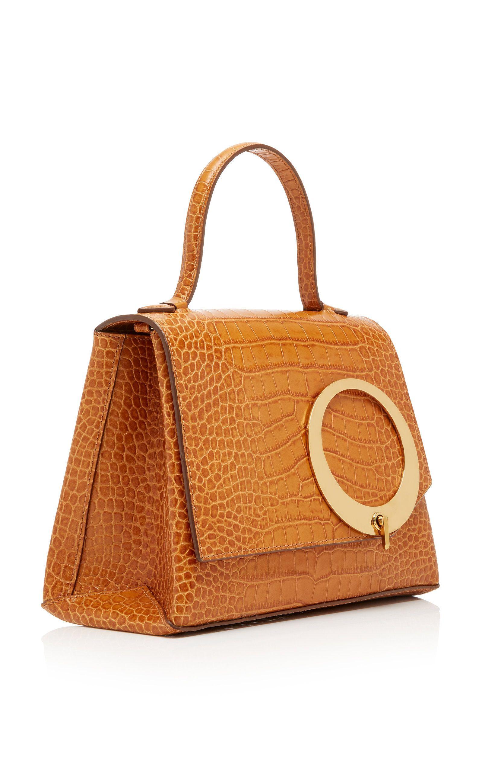 08c9f48bafd22 Embossed Croc Harriet Bag by TRADEMARK for Preorder on Moda Operandi ...