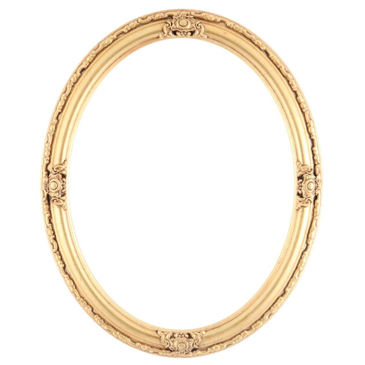 Jefferson Oval Frame #601 - Gold Leaf | Pinterest | Oval frame ...