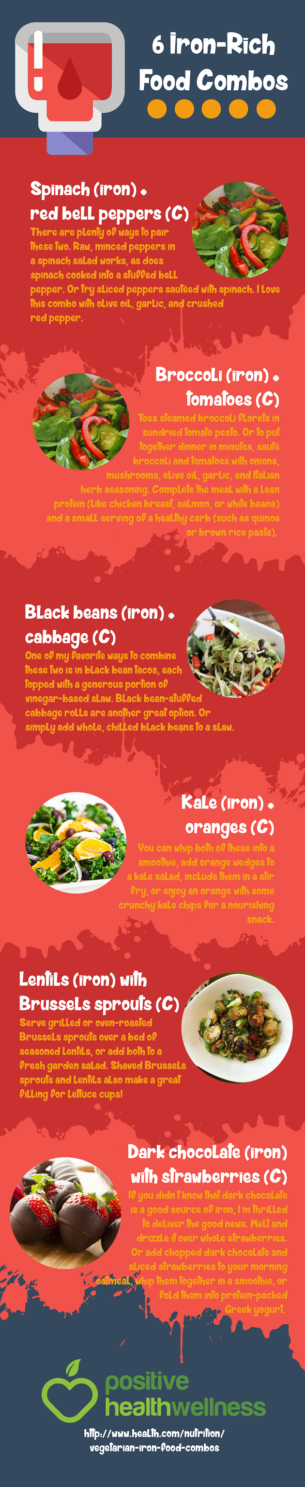 6 iron rich food combos positive health wellness infographic hypothyroidism diet recipes 6 iron rich food combos positive health wellness infographic get the entire hypothyroidism revolution system today forumfinder Image collections