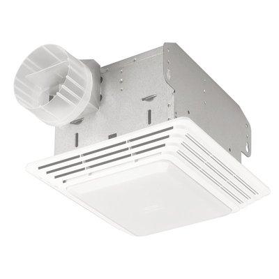 Broan Heavy Duty 50 Cfm Bathroom Fan With Light Bathroom Exhaust Fan
