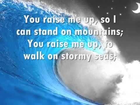 Lyrics to you lift me up christian song