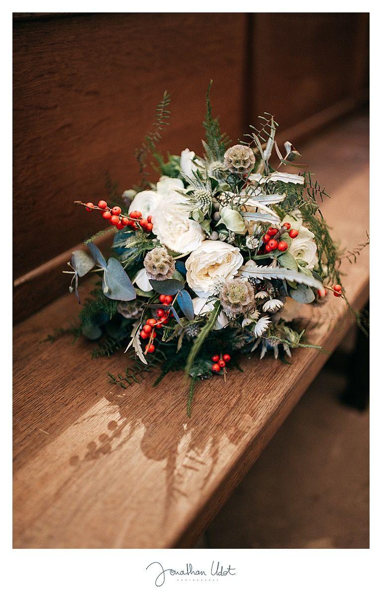Bouquet de mariée d'hiver, wedding bouquet Détours Nature