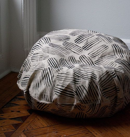 dorm diy beanbag chair makeover diy projects diy bean bag chair chair makeover. Black Bedroom Furniture Sets. Home Design Ideas