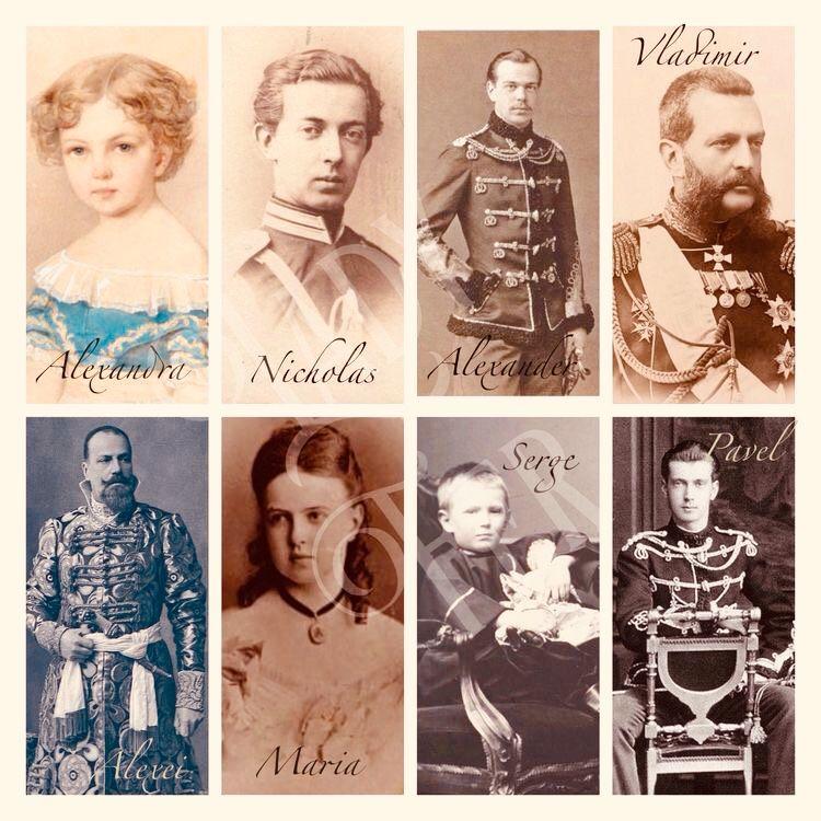 Children of alexander ii tsar russia marie hesse in