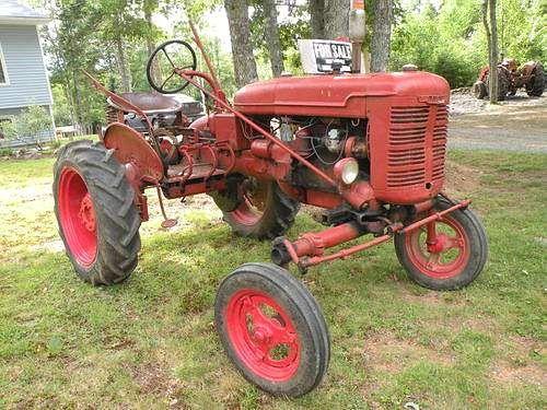 old farmall tractors tracteur machine agricole motoculteur motobineuse pinterest. Black Bedroom Furniture Sets. Home Design Ideas