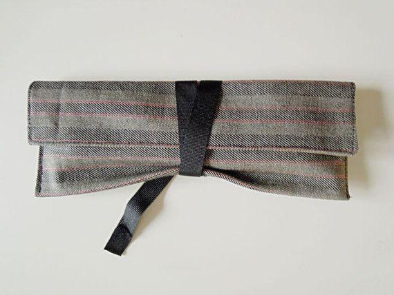 Estuche japonés cinta negra. por Latelatela en Etsy, €8.00