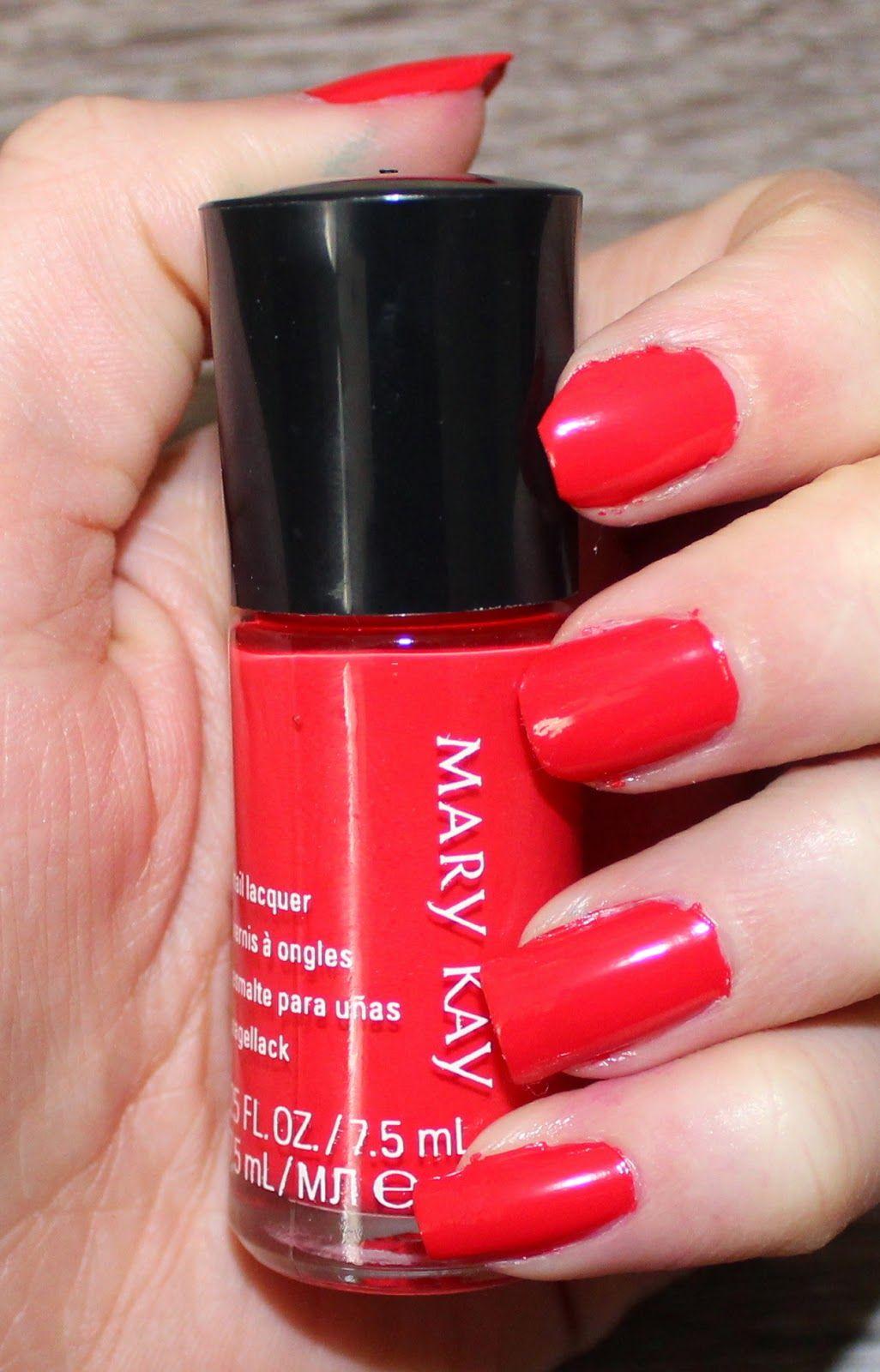 Mary Kay Paradise Calling Nail Lacquer in Tropical Mandarin | Nail ...