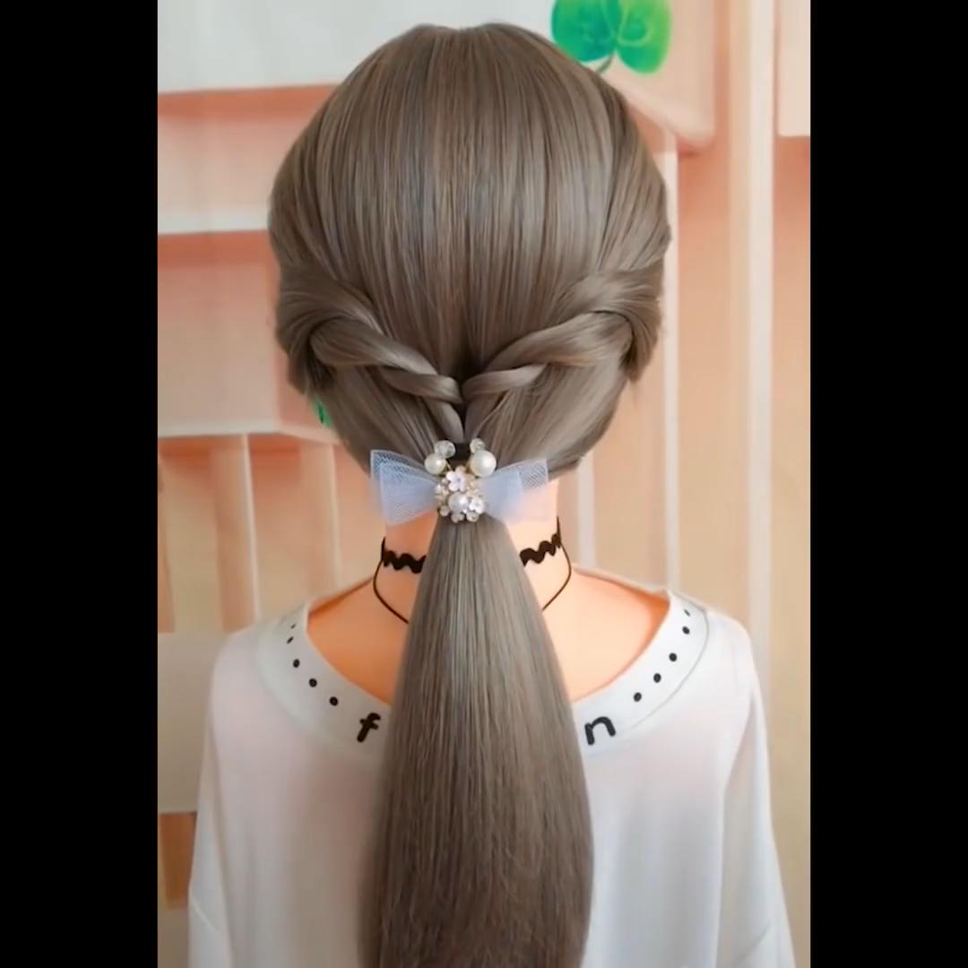 Top 16 Hairstyles Tutorials Compilation 2019 Hair Diy Hairdos Medium Hair Styles Hair Tutorials For Medium Hair Hair Hacks