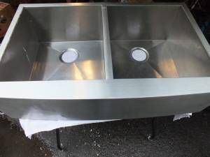 This Is The Sink That I Purchased On Craigslist For The Mudroom I