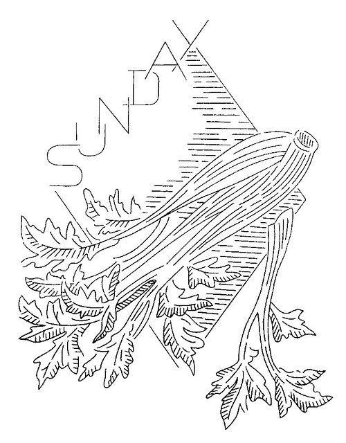 S 121 a   Pinterest   Apio, Dibujos para bordar y Bordado