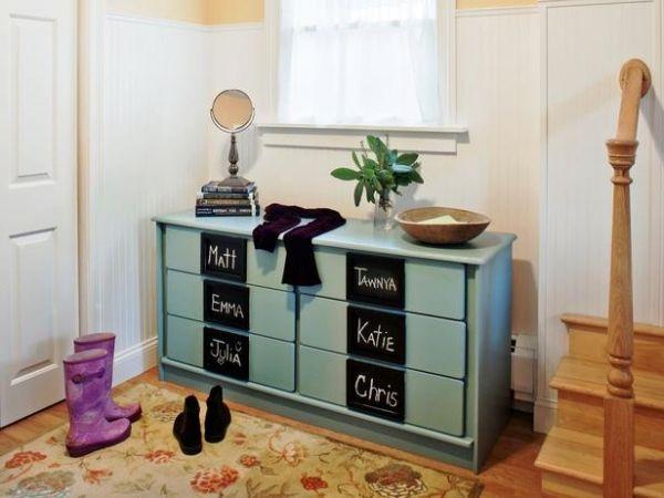 Kommode Aufpeppen Ideen Flurmoebel Tafelfarbe For The Home Mobel