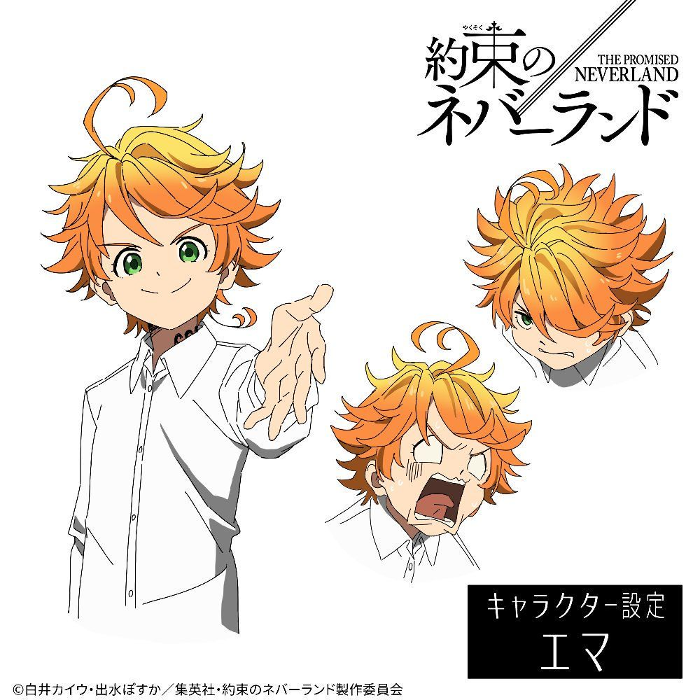 The Promised Neverland on Neverland, Drawings, Anime