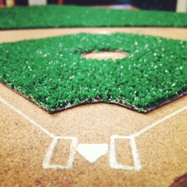 Diy Baseball Field Easy Craft Ideas