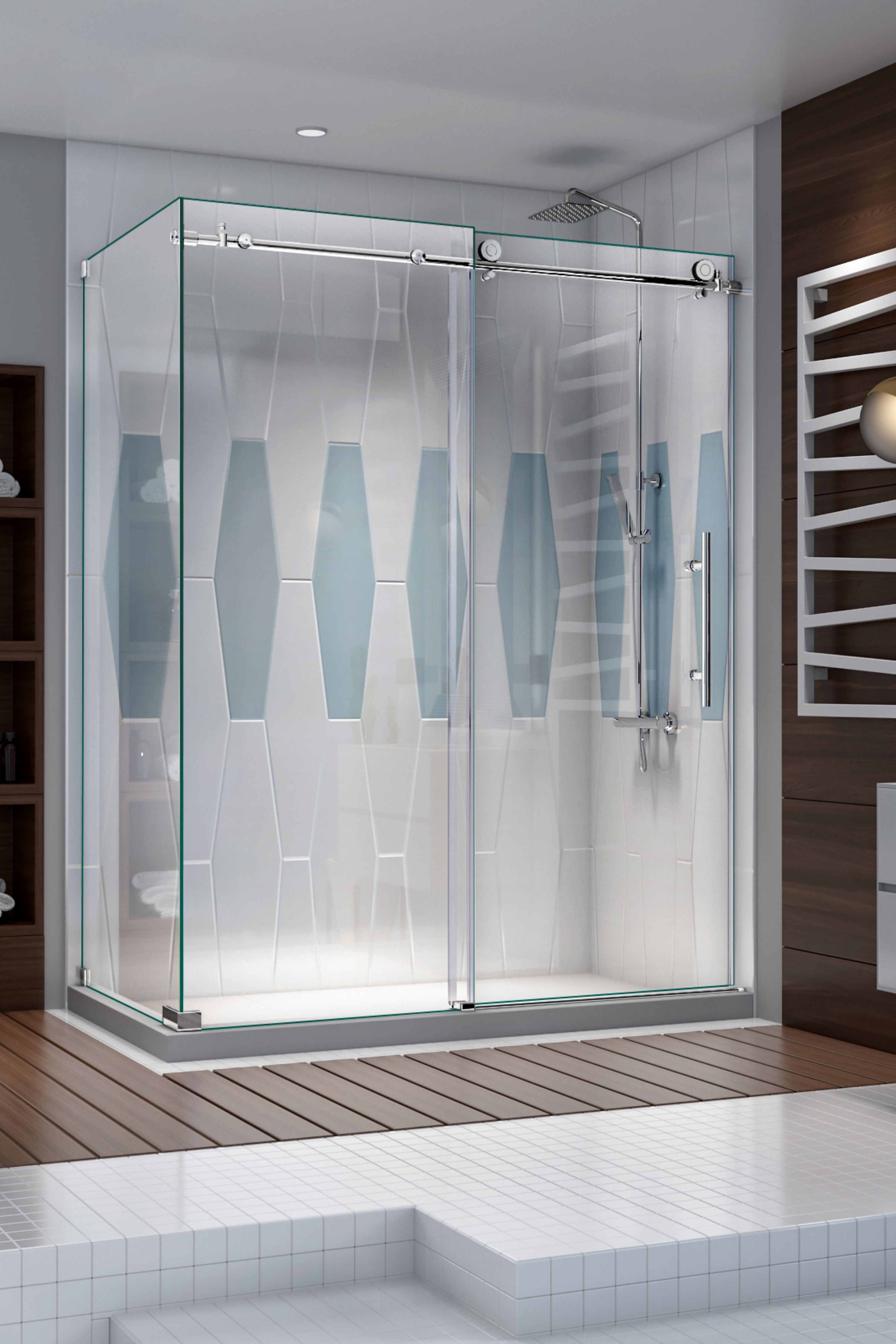 Dreamline S Custom Glass Group Custom Glass Dreamline Shower Doors