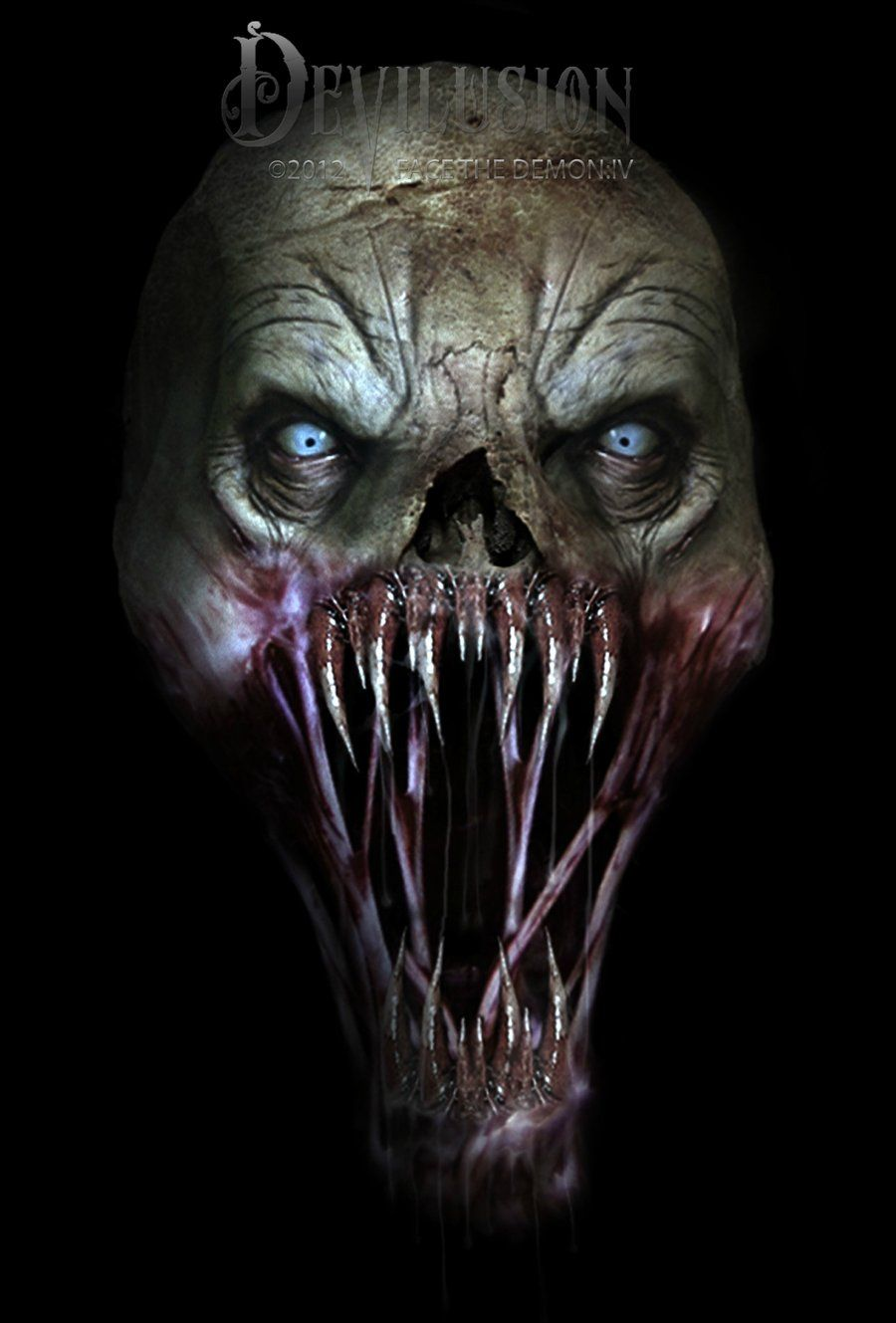 Face The Demon:IV by D3vilusion on DeviantArt