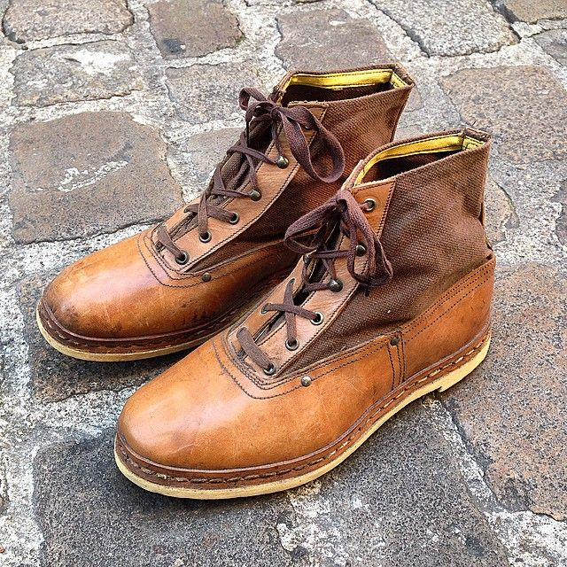 1930's deadstock mountaineering boots